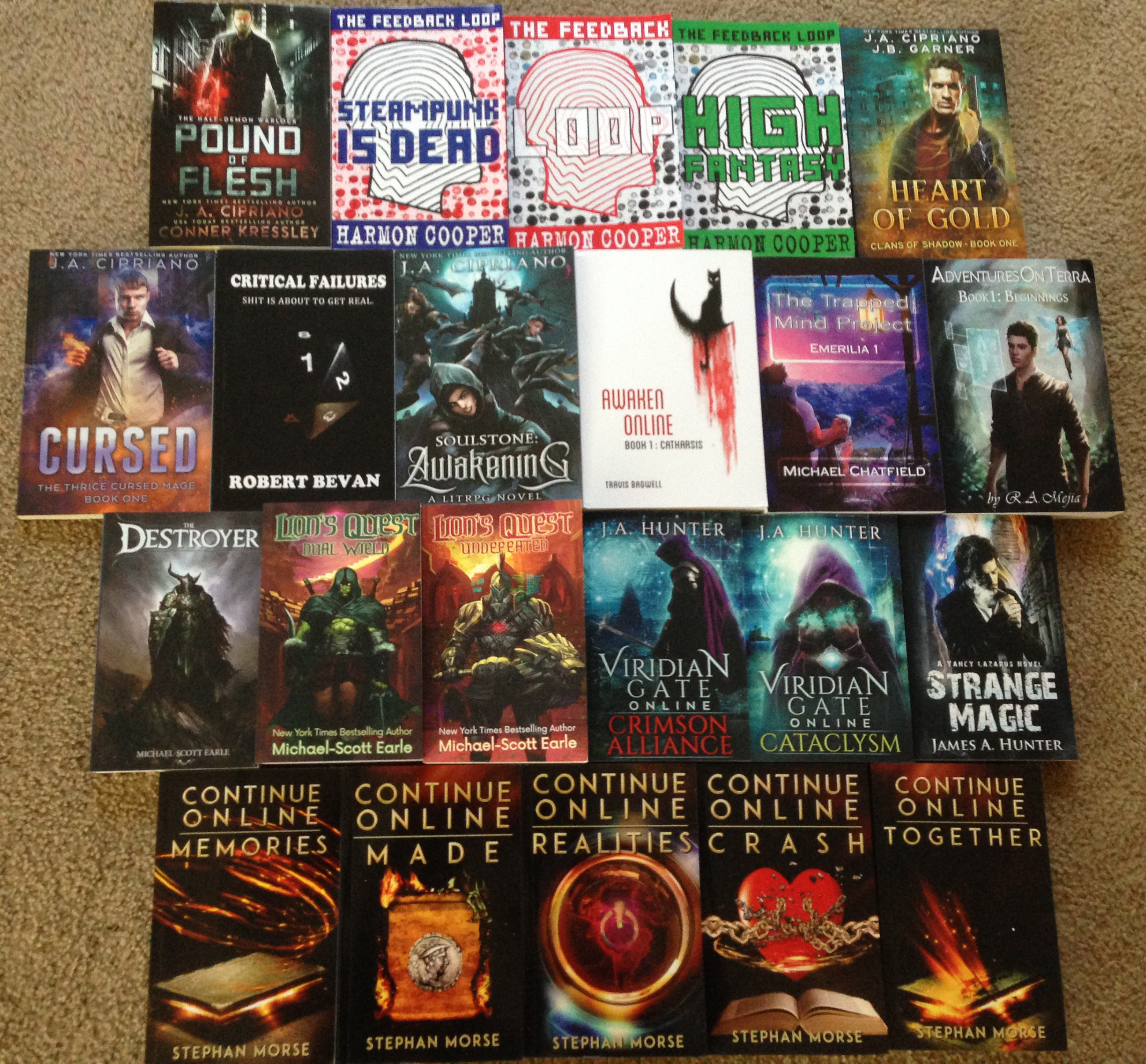 The most Epic LITRPG giveaway of all time!